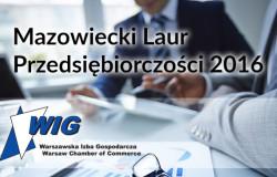 Mazowiecki Laur Przedsiębiorczości 2016