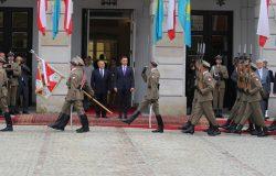 Wizyta prezydenta Kazachstanu w Polsce