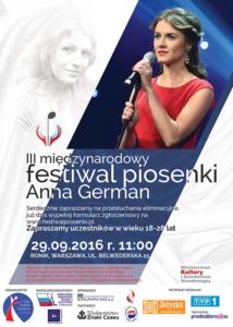 III Międzynarodowy Festiwal Piosenki - Anna German