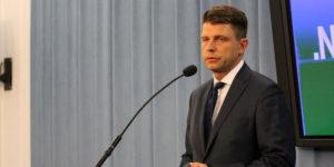 Ryszard Petru na konferencji prasowej w Sejmie komentuje wynik wyborów prezydenckich w USA.