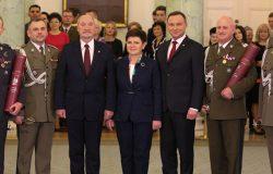 Prezydent wręczył nominacje 14 generałom