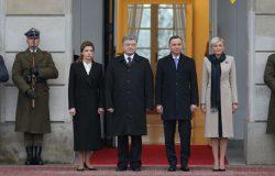 Wizyta prezydenta Ukrainy w Polsce