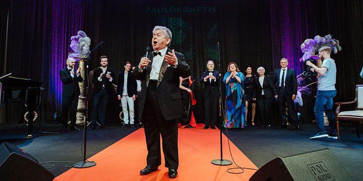 Benefis Paulosa Raptisa podczas XXVI Forum Humanum Mazurkas