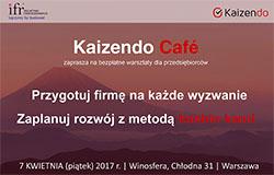 Kaizendo Café zaprasza na bezpłatne warsztaty dla przedsiębiorców