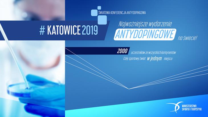 Światowa Konferencja Antydopingowa odbędzie się w Katowicach