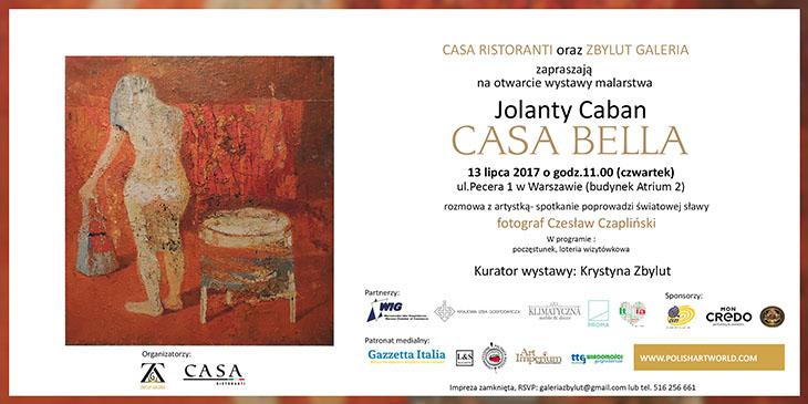 Wystawa malarstwa Jolanty Caban