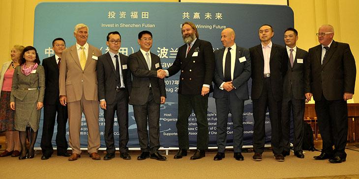 Seminarium promocji inwestycyjnej Shenzhen (Futian)