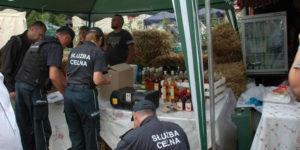 Nalot Służby Celnej na Festiwal Smaku w Grucznie