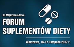 XII Międzynarodowe Forum Suplementów Diety