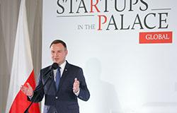 """Finał """"Startupów w Pałacu"""" z udziałem Andrzeja Dudy, foto: Krzysztof Sitkowski / KPRP"""