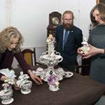 Muzeum Żup Krakowskich: Imponujący serwis porcelanowy, foto: Artur Grzybowski