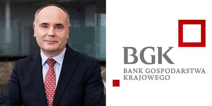 Jacek Szugajew, dyrektor zarządzający BGK