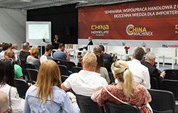 Targom China Homelife Poland 2018 towarzyszyły seminaria i warsztaty