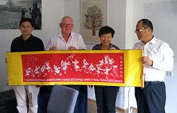 Delegacja z Urzędu Miasta Ji Nan