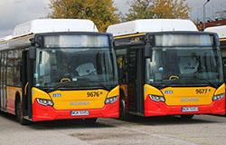 Kolejne autobusy gazowe w Warszawie