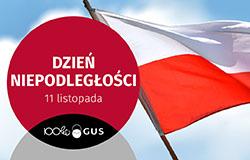 Infografika - Dzień Niepodległości (11 listopada)