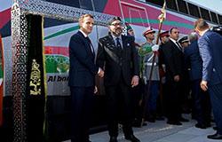 Królewskie otwarcie linii Tanger – Casablanka