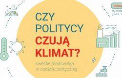 Czy politycy czują klimat?
