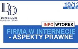 Firma w Internecie - aspekty prawne