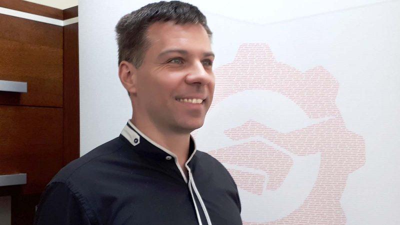 Kamil Wójcik, prezes NOT-Informatyka