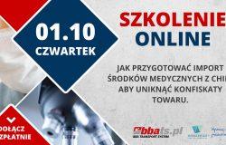 Szkolenie on-line z BBA Transport System