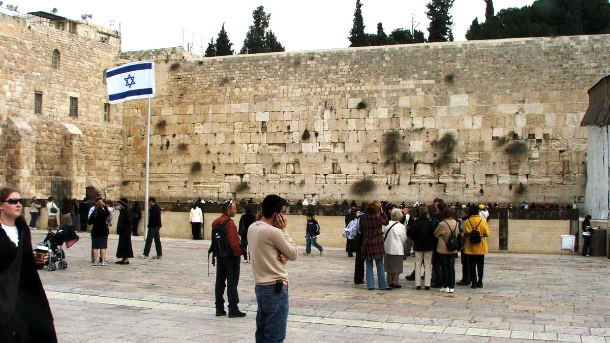 Jerozolima - Ściana Płaczu
