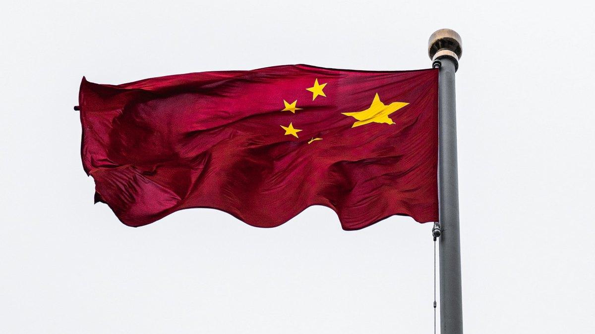 Flaga Chin na maszcie