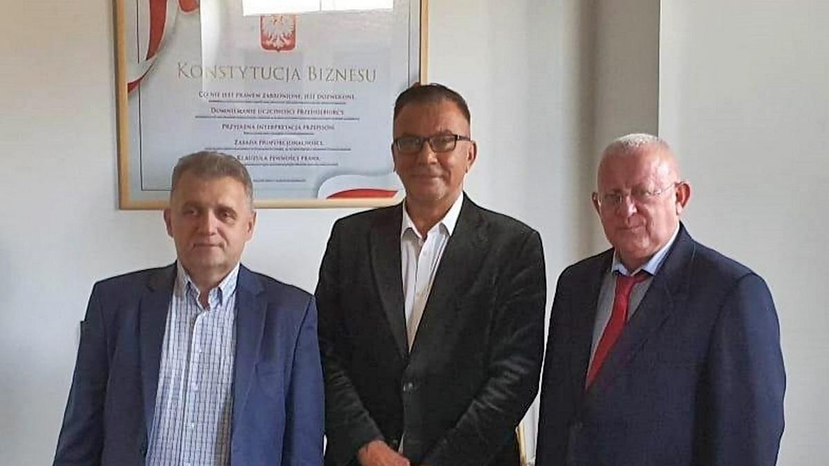 Marek Traczyk, Karol Dobrowolski i Adam Abramowicz