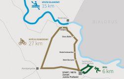 Trasa IV Triathlon i Paratriathlon Kraina Bugu 2021